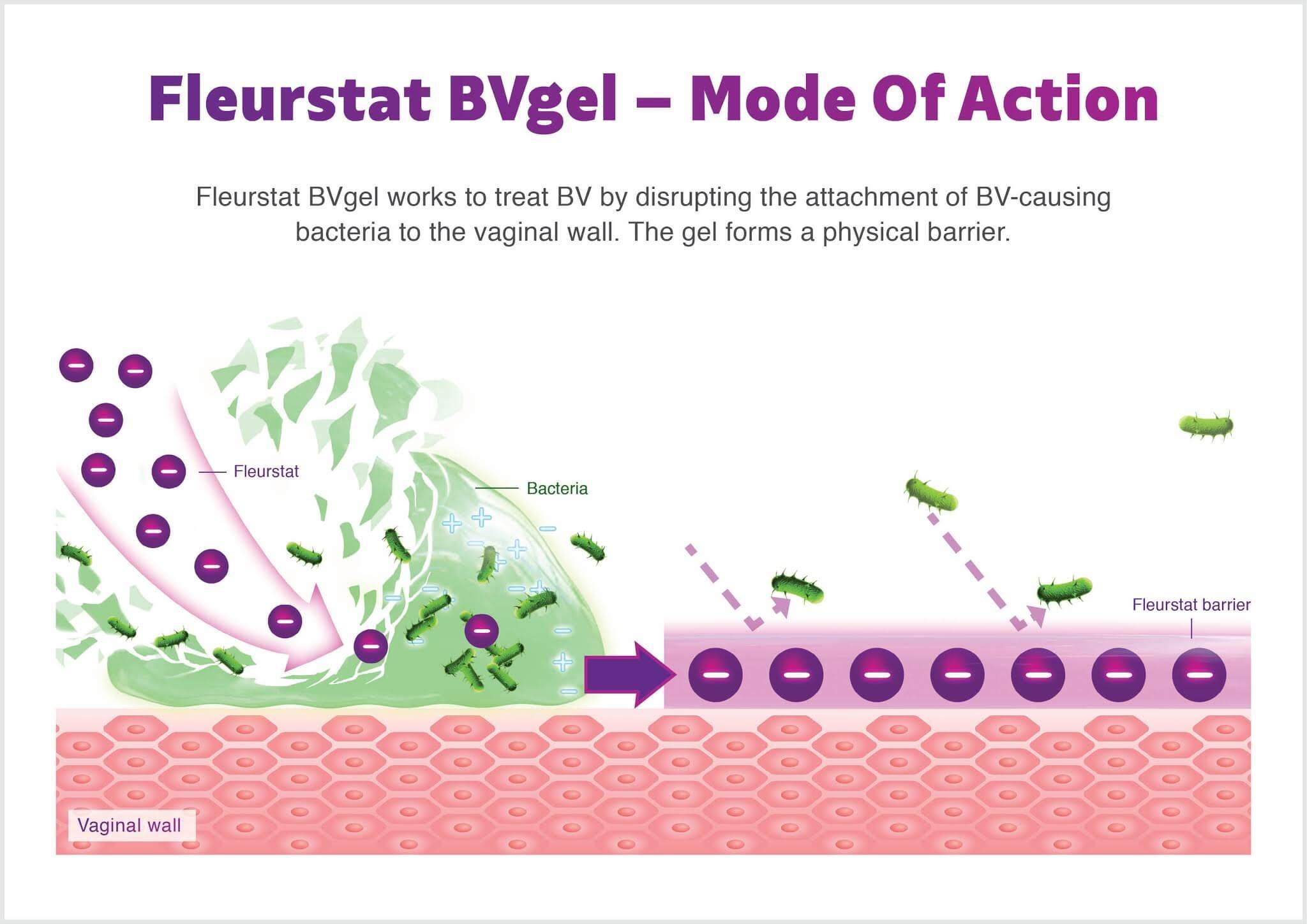 Fleurstat BV Gel mode of action - how Fleurstat works